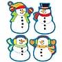 Carson-Dellosa Snowmen Shape Stickers