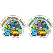 Carson-Dellosa Happy Birthday, Jesus! Shape Stickers
