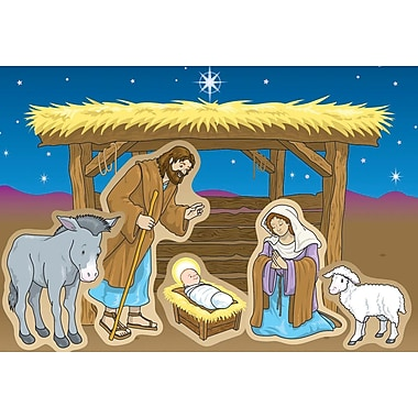 Carson-Dellosa Nativity Stickers