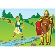 Carson-Dellosa David & Goliath Stickers