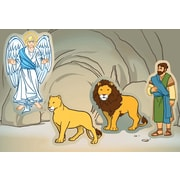 Carson-Dellosa Daniel in the Lion's Den Stickers