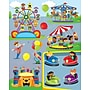 Carson-Dellosa Carnival Shape Stickers