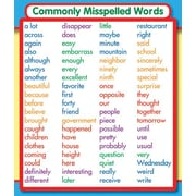 Carson-Dellosa Commonly Misspelled Words Stickers