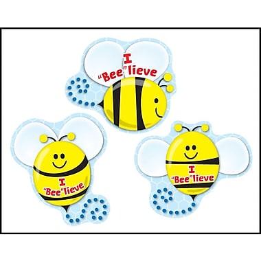"""Carson-Dellosa I """"Bee""""lieve Shape Stickers"""