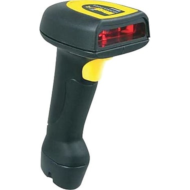 Wasp® 633808920029 Black/Yellow Handheld Barcode Scanner Kit