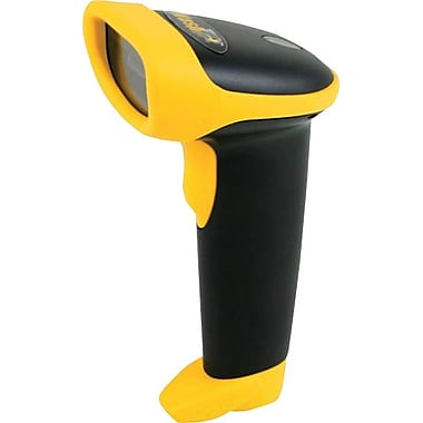 Wasp ® 633808181031 Black/Yellow Series LR Handheld Bi-Color CCD Barcode Scanner