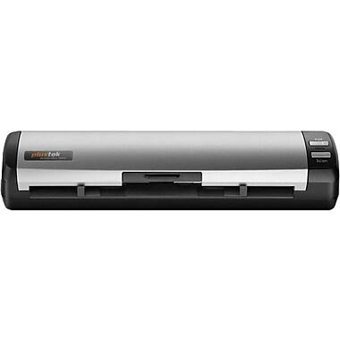 plustek MobileOffice D412 Sheetfed Scanner, Black/Silver