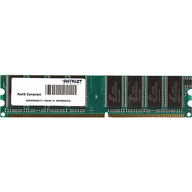 Patriot Signature 1GB (1 x 1GB) DDR (184-Pin SDRAM DDR 333 (PC 2700) Universal Desktop Memory