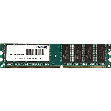 Patriot Signature 1GB (1 x 1GB) DDR (184-Pin SDRAM DDR 333 (PC 2700) Universal Desktop Memory