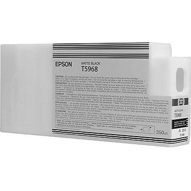 Epson T596 Matte Black UltraChrome HDR Ink Cartridge (T596800), 350ml