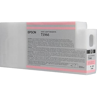 Epson T596 Light Magenta UltraChrome HDR Ink Cartridge (T596600), 350ml