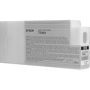 Epson 596 350ml Light Light Black UltraChrome HDR Ink Cartridge (T596900), High Yield
