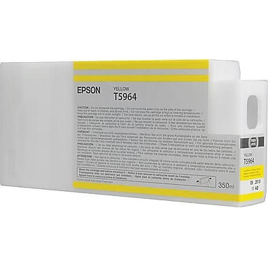 Epson 596 350ml Yellow UltraChrome HDR Ink Cartridge (T596400), High Yield