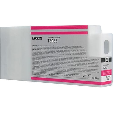 Epson T596 Magenta UltraChrome HDR Ink Cartridge (T596300), 350ml
