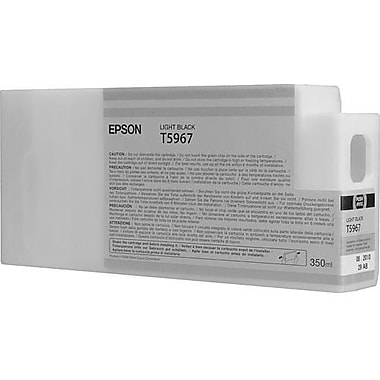 Epson T596 Light Black UltraChrome HDR Ink Cartridge (T596700), 350ml
