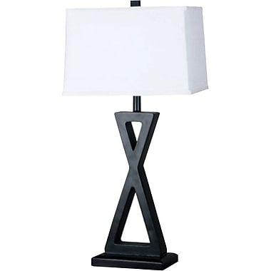 Kenroy Logan Incandescent Table Lamps, Oil Rubbed Bronze Finish, 2/Pack