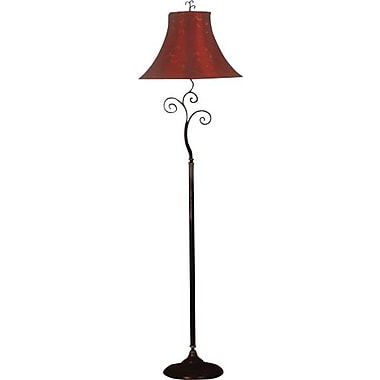 Kenroy Richardson Incandescent Floor Lamp, Bronze Finish