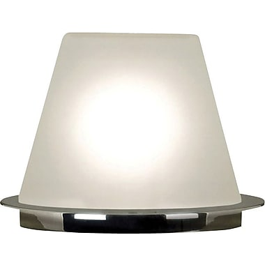 Kenroy Blast Incandescent Accent Lamp, Chrome Finish