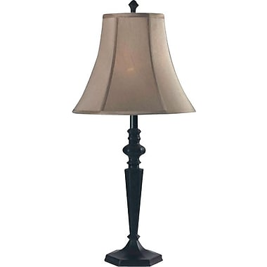 Kenroy Danbury Incandescent Table Lamps, Oil Rubbed Bronze Finish, 2/Pack
