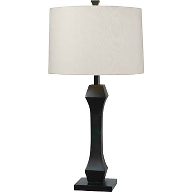 Kenroy Home Gemini Table Lamp, Oil Rubbed Bronze Finish