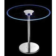 Kenroy Home Spectral LED Table, Chrome Finish