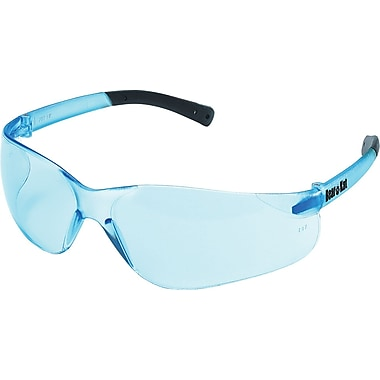 MCR Safety® BearKat ANSI Z87 Crews Safety Glasses, Frost Blue