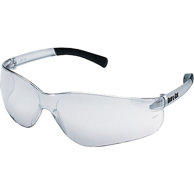 MCR Safety® BearKat Crews ANSI Z87 Safety Glasses, Indoor/Outdoor Clear Mirror