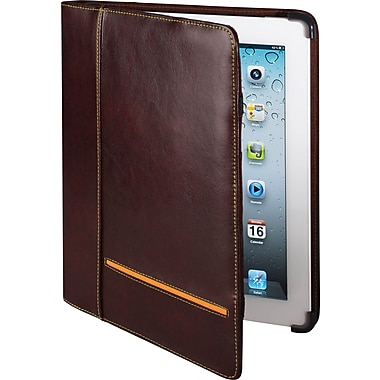 Cyber Acoustics iPad 3 Leather Case, Brown