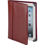 Cyber Acoustics iPad 3 Leather Case, Red