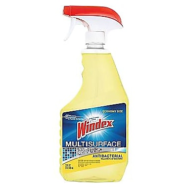 Windex® Antibacterial Multi-Surface Cleaner Spray, 32 oz.