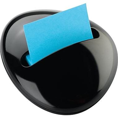 Post-it® Pebble Pop-up Notes Dispenser, 3'' x 3''