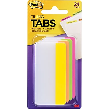 Post-it® Durable Filing Tabs, 3