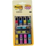 Post-it® Mini Flags Value Pack, 1/2 x 1-3/4, 8 Colours, 328/Pack