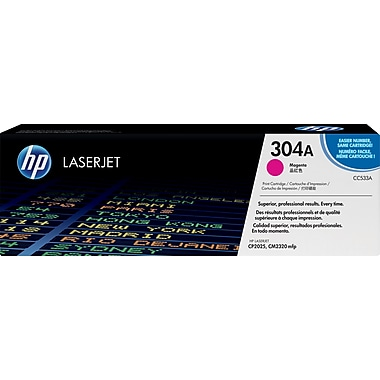 HP 304A Magenta Toner Cartridge (CC533A)