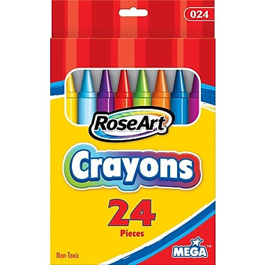 RoseArt Crayons, 24/Box