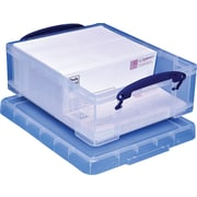 Really Useful Box® 8.1 Liter Box with Handles, Clear