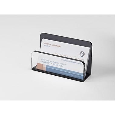 Staples Acrylic Heavy Duty Business Card Holder