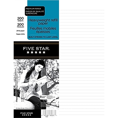 Five Star® Heavyweight Refill Paper, 10-7/8