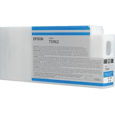 Epson T596 Cyan UltraChrome HDR Ink Cartridge (T596200), 350ml
