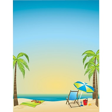 Great Papers® Beach Time Stationery