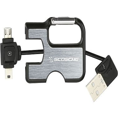 Scosche IPUSBM3 clipSYNC - Charge & Sync Cable for iPod and iPhone