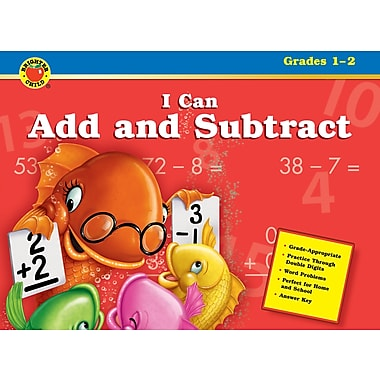 Brighter Child I Can Add and Subtract Workbook