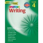 Spectrum Writing Workbook, Grade 4