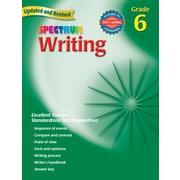 Spectrum Writing Workbook, Grade 6.