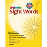 Spectrum Sight Words Workbook, Grade 1