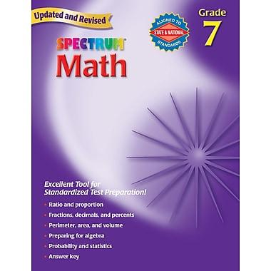 Spectrum Math Workbook, Grade 7
