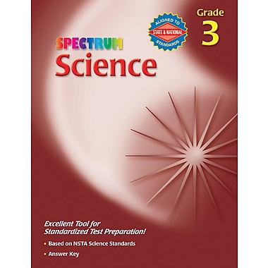 Spectrum Science Workbook, Grade 3