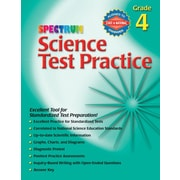 Spectrum Science Test Practice Workbook, Grade 4
