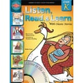 American Education Listen, Read, and Learn with Classic Stories Book with CD, Grade K