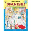 Instructional Fair Teach Them Spanish! Resource Book, Grade 4